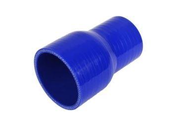 Silikonová redukce 60/50mm, délka 76mm, modrá