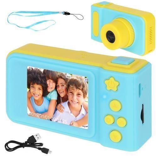 Dětský digitální fotoaparát 2GB modrožlutá