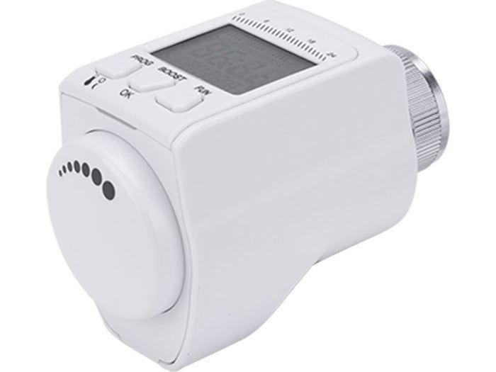 Hlavice termostatická pro radiátor, programovatelná, EXTOL