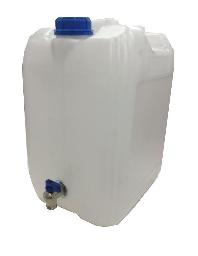 Plastový kanystr s kohoutkem, 20 L