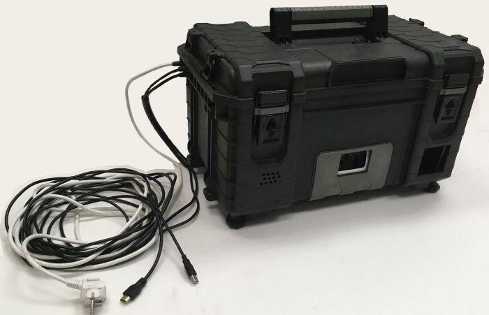 Laserová střelnice - WINGS Projekční střelnice - PROFI
