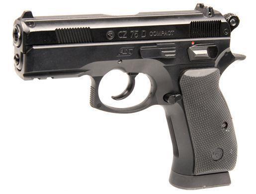 Laserová zbraň - CZ75D - červený laser (CV)