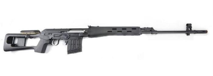 Laserová zbraň - Dragunov - červený laser (CV)