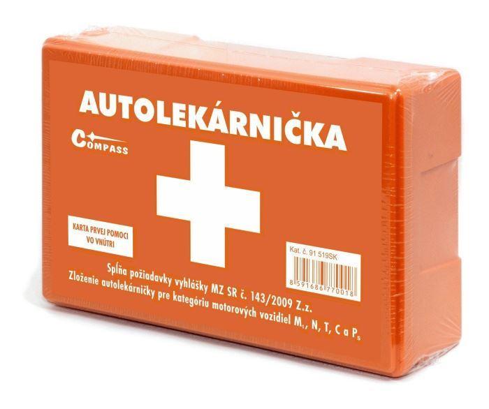 Lékarnička I. plastová velká SK (expirace 4 roky)