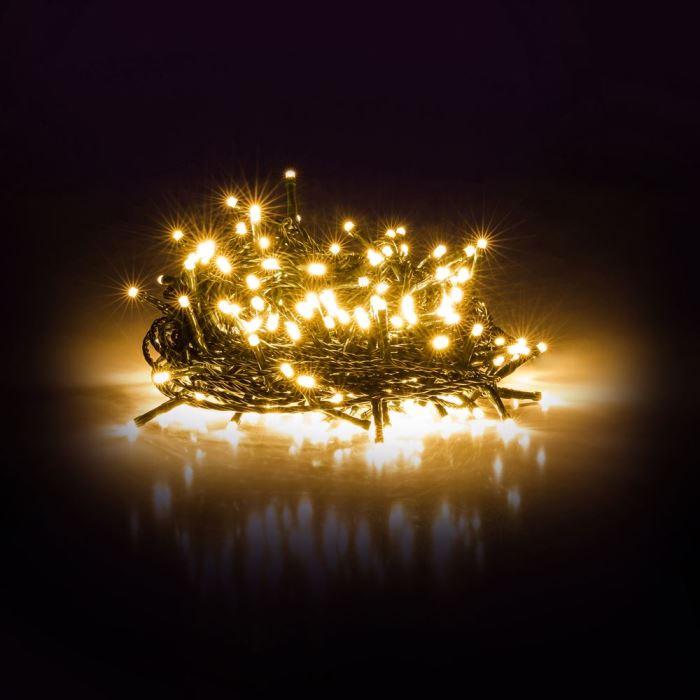 Vánoční  osvětlení řetěz RXL 214 řetěz 300LED 30+5m WW TM RETLUX