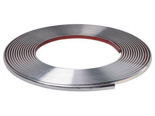 Samolepící chromová páska 15mmx15m