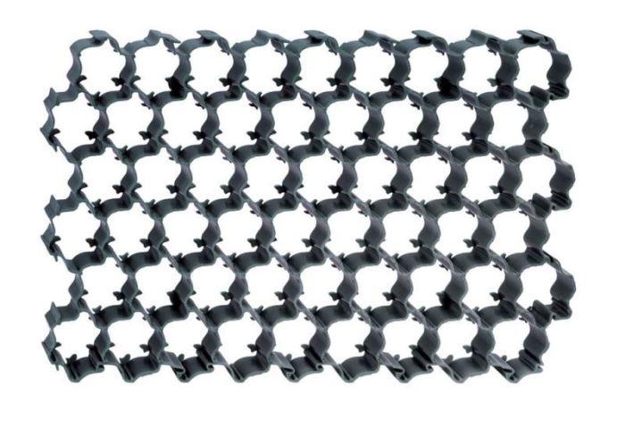 Zatravňovací tvárnice PLANT černá 60x40cm - 1,1m2, Prosperplast