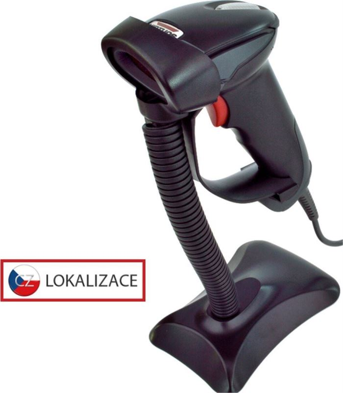 Laserová čtečka Virtuos HT-900A, USB (klávesnice/RS-232 emulace)