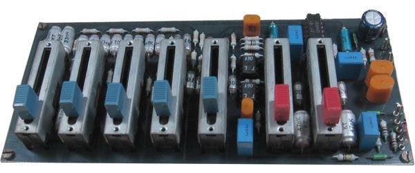 Zesilovač stereo s ekvalizerem, STAVEBNICE