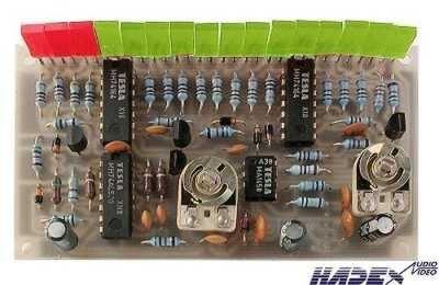 Indikátor vybuzení 16 LED     STAVEBNICE
