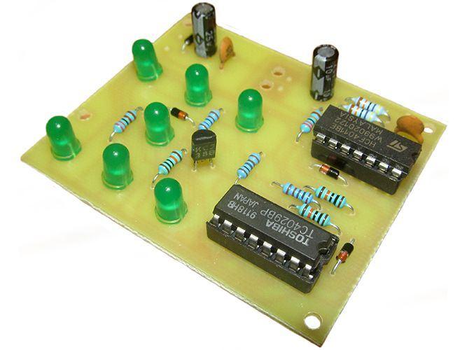 Hrací kostka elektronická zelená STAVEBNICE