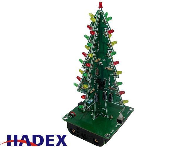 3D vánoční stromeček LED, STAVEBNICE