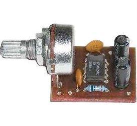 Zesilovač 1W s LM386, STAVEBNICE