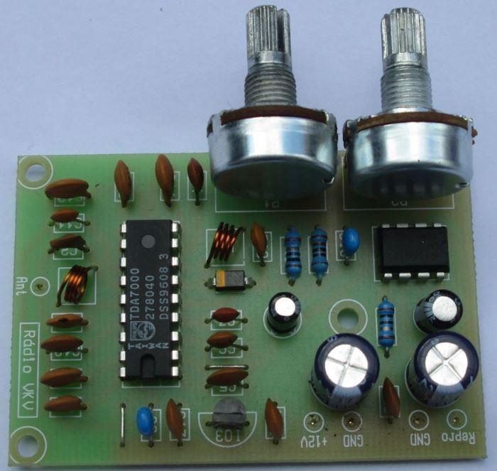 Rádio FM (VKV) s TDA7000, STAVEBNICE