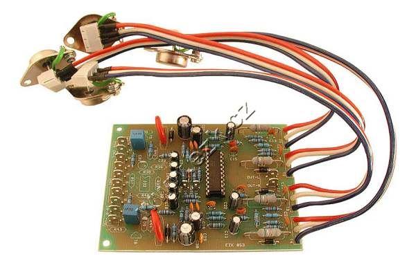 Zesilovač 2x200W nf stereo STAVEBNICE KSD8253