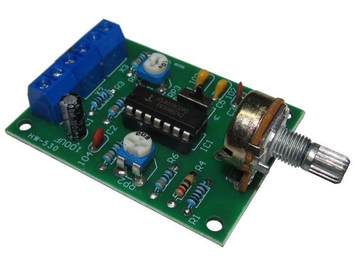 Signální generátor sinus, delta a obdélník 50Hz-5kHz s ICL8038