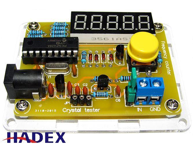 Čítač 1Hz-50MHz+tester krystalů, STAVEBNICE