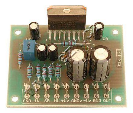 Zesilovač 70W/ 100W nf. mono, symetrické napájení ±36V