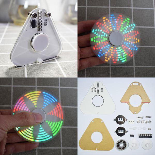 Rotující LED-světelné efekty, STAVEBNICE