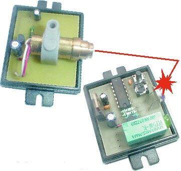 Laserová závora pro vnitřní použití STAVEBNICE