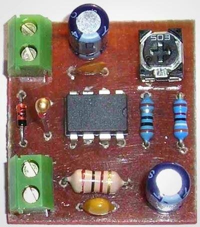 W847 - Regulátor ventilátoru v PC STAVEBNICE