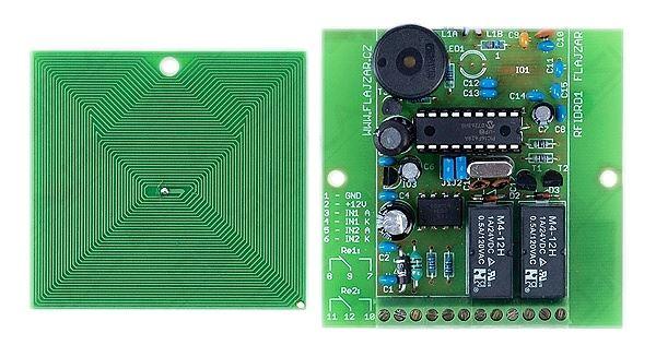 Bezkontaktní identifikace RFID2 STAVEBNICE