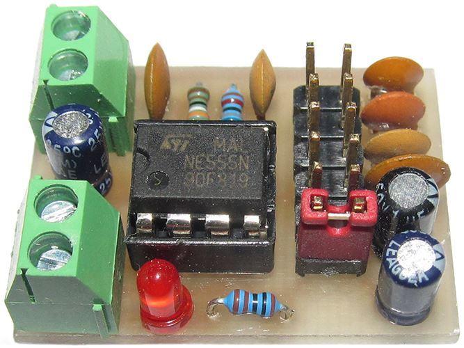 Jednoduchý generátor 1Hz-100kHz - STAVEBNICE